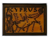 CYPRUS - Leather Travel Photo Album - Handcrafted