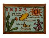 IBIZA - Leather Travel Photo Album - Handmade