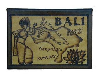 BALI - Leather Travel Journal / Sketchbook - Handcrafted