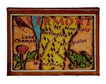 VERMONT - Leather Travel Photo Album - Handmade