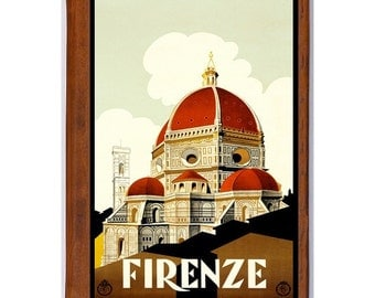 FLORENCE 5- Handmade Leather Photo Album - Travel Art