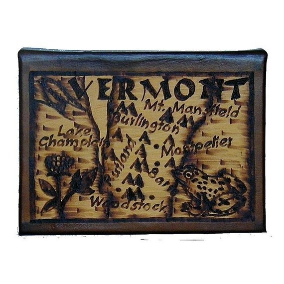 VERMONT - Leather Travel Photo Album - Handcrafted