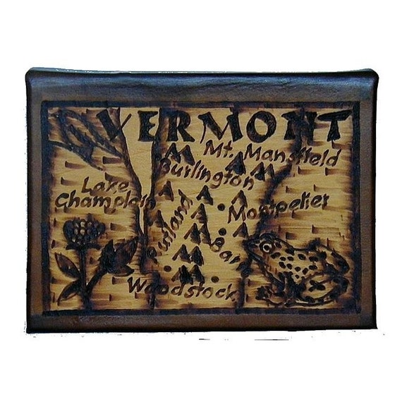 VERMONT - Leather Travel Journal / Sketchbook - Handcrafted