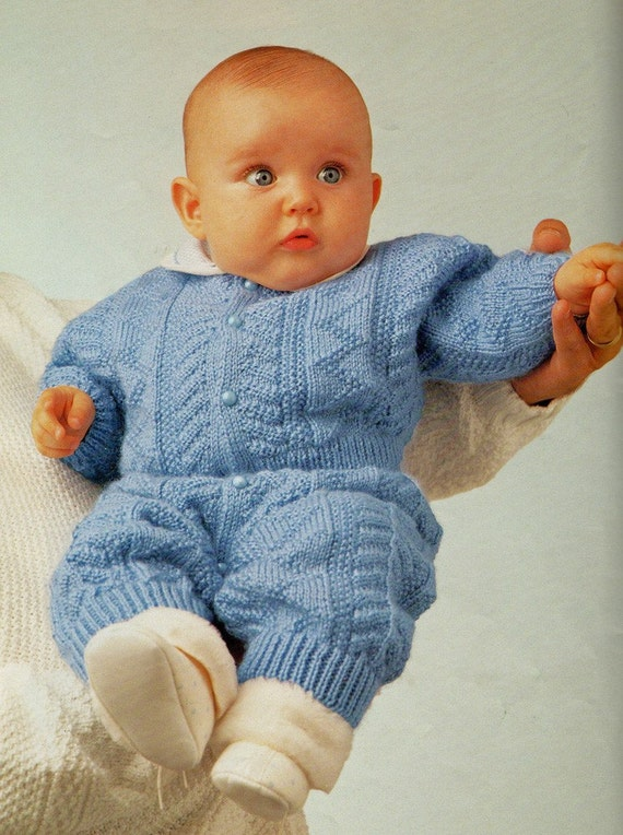 Phildar No 212 Baby Knitting Patterns 30 Designs by sandmarg
