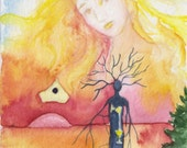 Beth Seilonen, Watchers Arcana Tarot Deck LTD ED of 100 Tree People Art