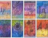 Beth Seilonen, Darkened Dreams Arcana (22 card) Tarot Deck Limited Edition of 50