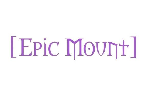 Epic Mount Gaming Decal