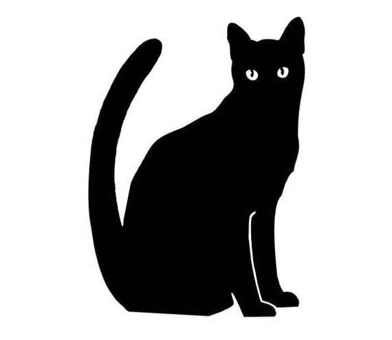 Black Cat - Vinyl Decal