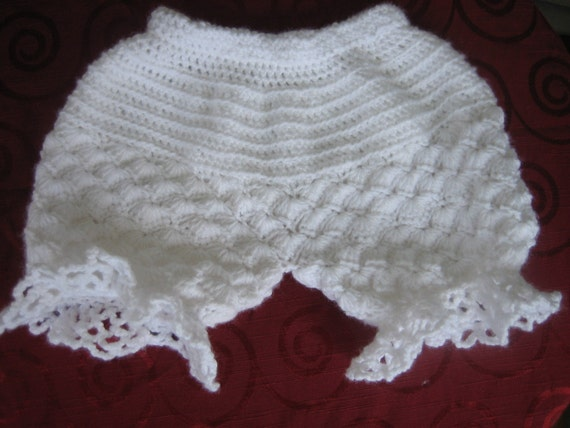 Crochet Pattern Victorian Baby bloomers by Romywill on Etsy