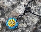 Lampwork Lollipop Necklace