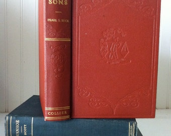 1932 1st Edition - Sons by Pearl S. Buck
