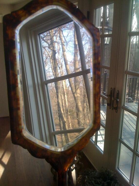 1940s Vintage Bakelite Vanity Mirror