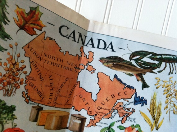 1912, Oh, Canada - illustrated map