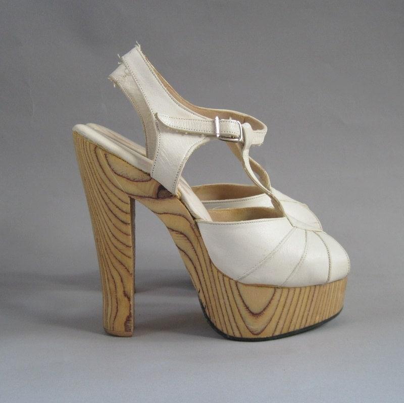 Disco Heel Shoes