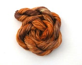 Hand dyed stranded cotton embroidery floss, 20m skein -  terracotta, brown, beige, rust, copper