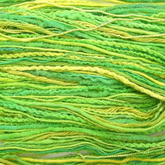 Thread selection - lemon and lime