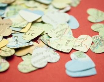 Atlas paper hearts - confetti