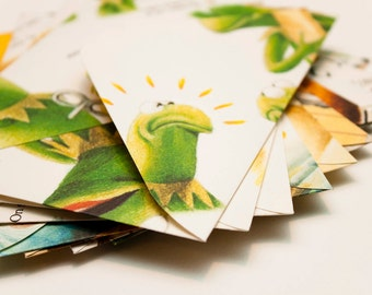 The Muppet Show - Handmade upcycled envelopes - Medium