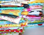 fat quarter set--4 pieces--1 yard--variety of designers and collections