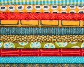 a stitch in color half yard bundle--10 pieces--5 yards total--moda fabrics