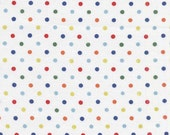 1 yard---Mini Dot in Retro,  Mini Mike's, Michael Miller Fabrics