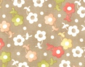 California Girl---Summer Blossom in Boardwalk--1 yard--Fig Tree Quilts for Moda Fabrics