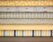 Seaside half yard bundle--8 pieces---4 yards total--October Afternoon for Riley Blake Fabrics