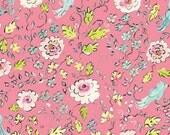 SALE---1 yard---Ashford in Pink, London, Dena Designs, Free Spirit Fabrics