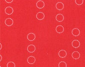 A Walk in the Woods---Circles in Poppy--1 yard--Aneela Hoey for Moda Fabrics-