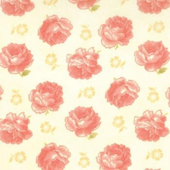 SALE---1 yard---Lovely in Cream, Breakfast at Tiffany's, Joanna Figueroa of Fig Tree and Co., Moda Fabrics