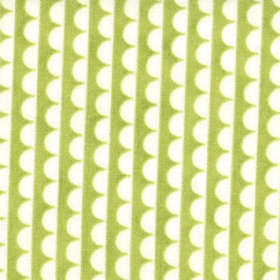 1 yard---Ruby Sundae in Lime, Ruby, Bonnie and Camille for Moda Fabrics