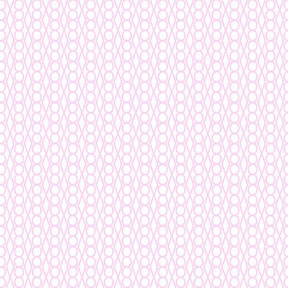 SALE---1 yard---Light Pink Jewel in Outsmarted, Outfoxed, Lizzy House, Andover Fabrics