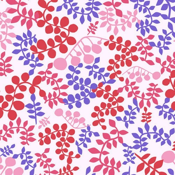 SALE---1 yard---Foliage in Outplayed, Outfoxed, Lizzy House, Andover Fabrics
