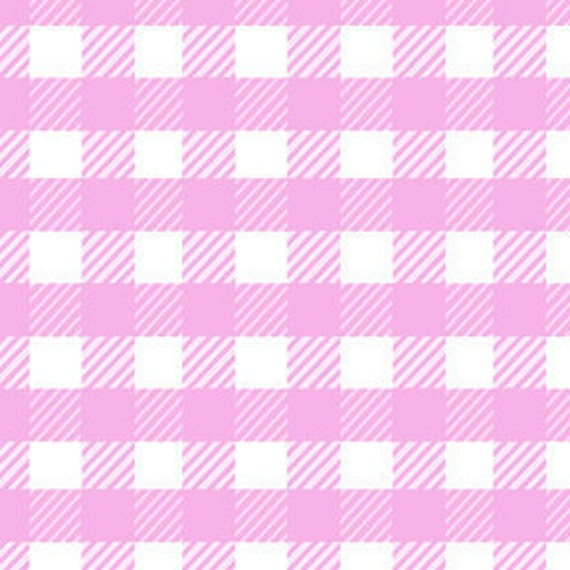 SALE--1 yard---School Gingham in Lilac,  Children at Play, Sarah Jane, Michael Miller Fabr
