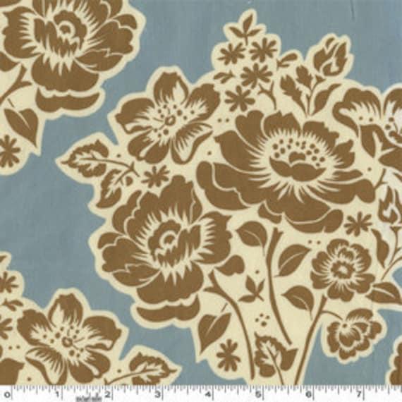 ON SALE---1 yard---Fresh Cut Flowers in Speckle, Secret Garden, Sandi Henderson, Michael Miller Fabrics