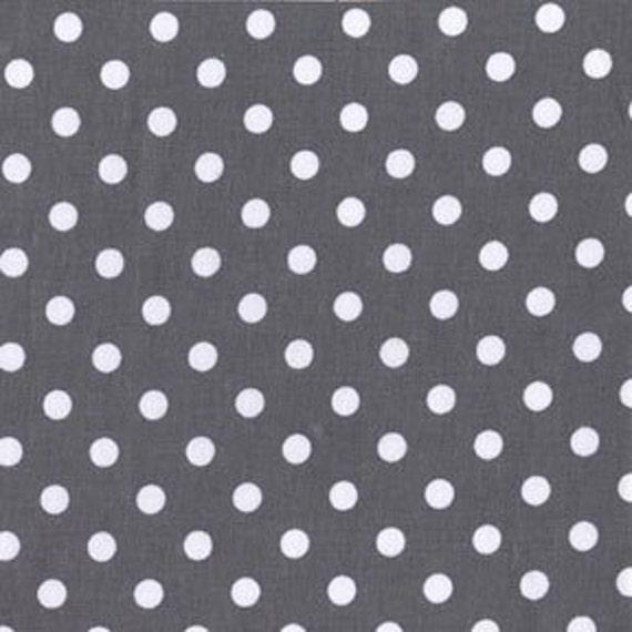 Dumb Dot in Charcoal---1 yard---Michael Miller Fabrics