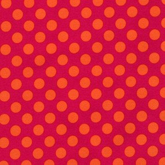 1 yard---Bubble Gum Ta Dot, Ta Dot, Michael Miller Fabrics