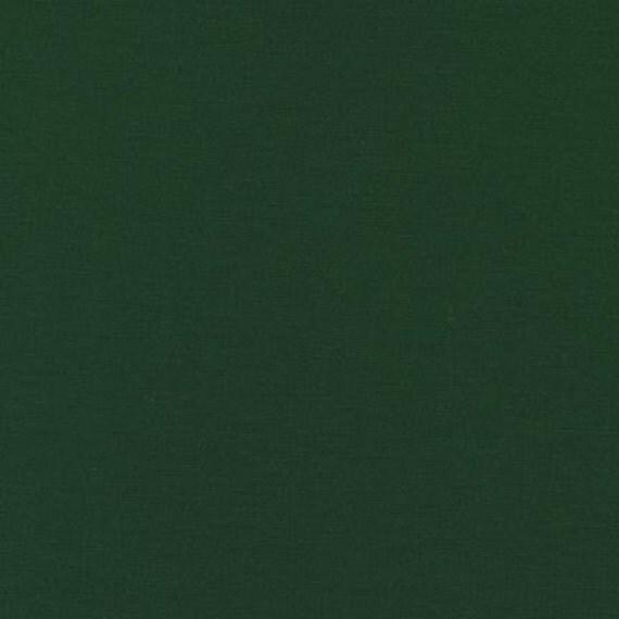 1 yard--Forest, Kona Cotton Solid, Robert Kaufman Fabrics