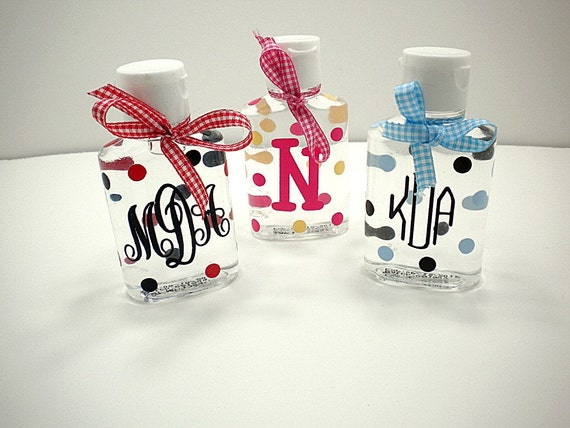 Mini personalized hand sanitizer perfect for your by for Custom printed hand sanitizer