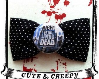 Night Of The Living Dead Hair Clip