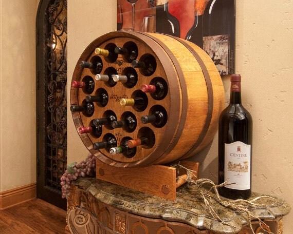 1/3 Barrel Wine Rack