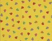 Momo Tossed Apples Yellow - Clearance 1 Yard