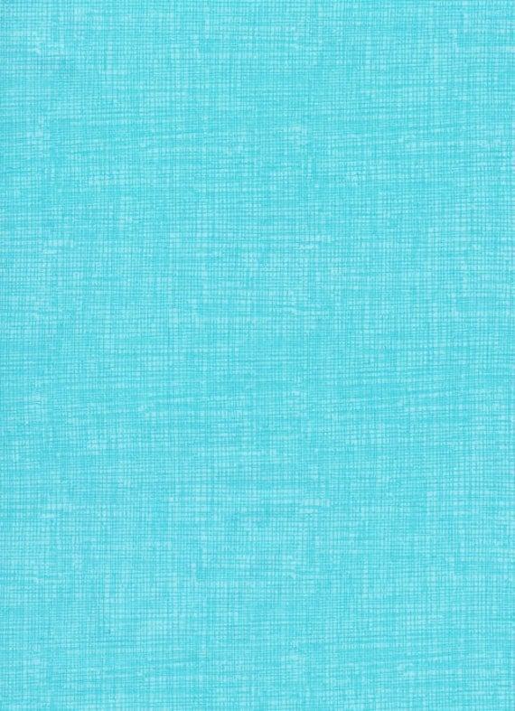 Timeless Treasures Screen Texture Aqua -  Fat Quarter