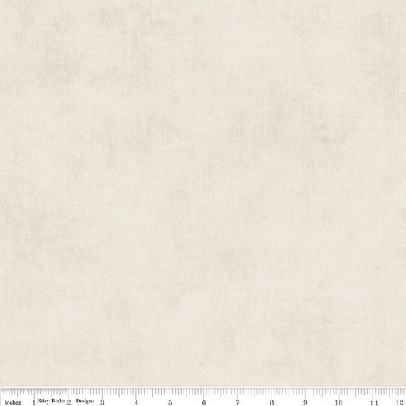 Riley Blake Designs Basics Shades Cream - Fat Quarter