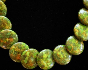 Fresh Green Necklace