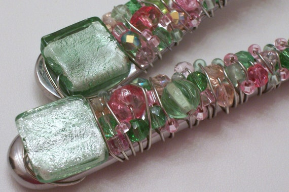 Pink and Green Server Set
