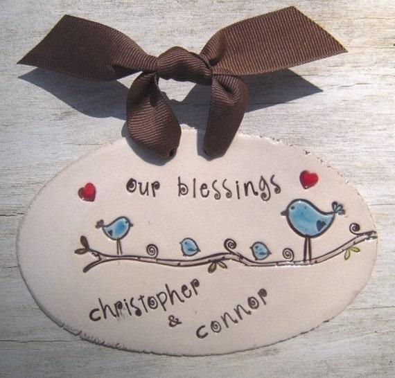Sweet Blessings Plaque - Custom Made for Mom - Grandma - Nana