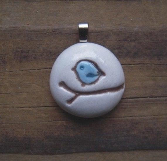 sweet bluebird pendant