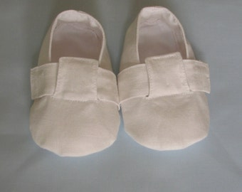 Christening  Shoes  - Silk or linen