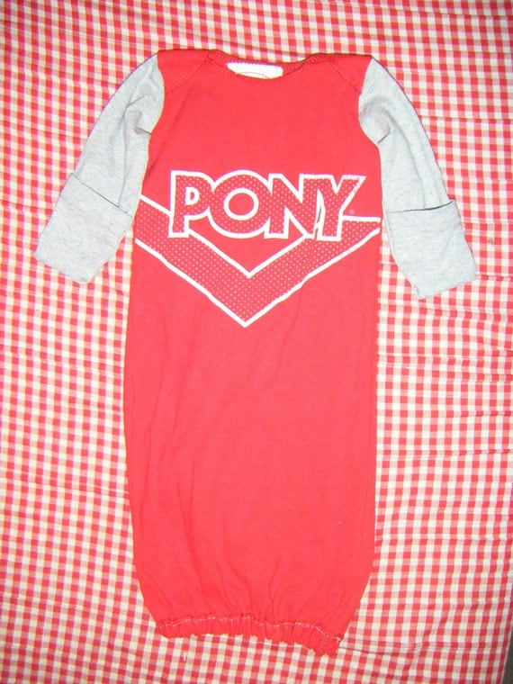 Hipster Baby Gown- Pony